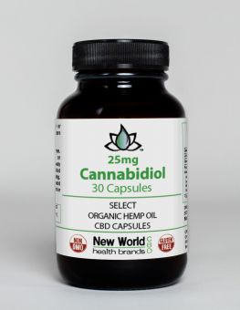 25mg - 30ct. Select CBD Capsules