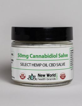 50mg - 1.7oz Select Hemp Oil BALM CBD