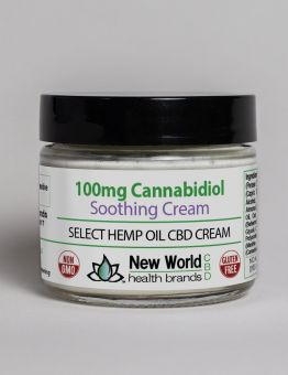 100mg - 2oz Select Soothing Cream Hemp Oil CBD