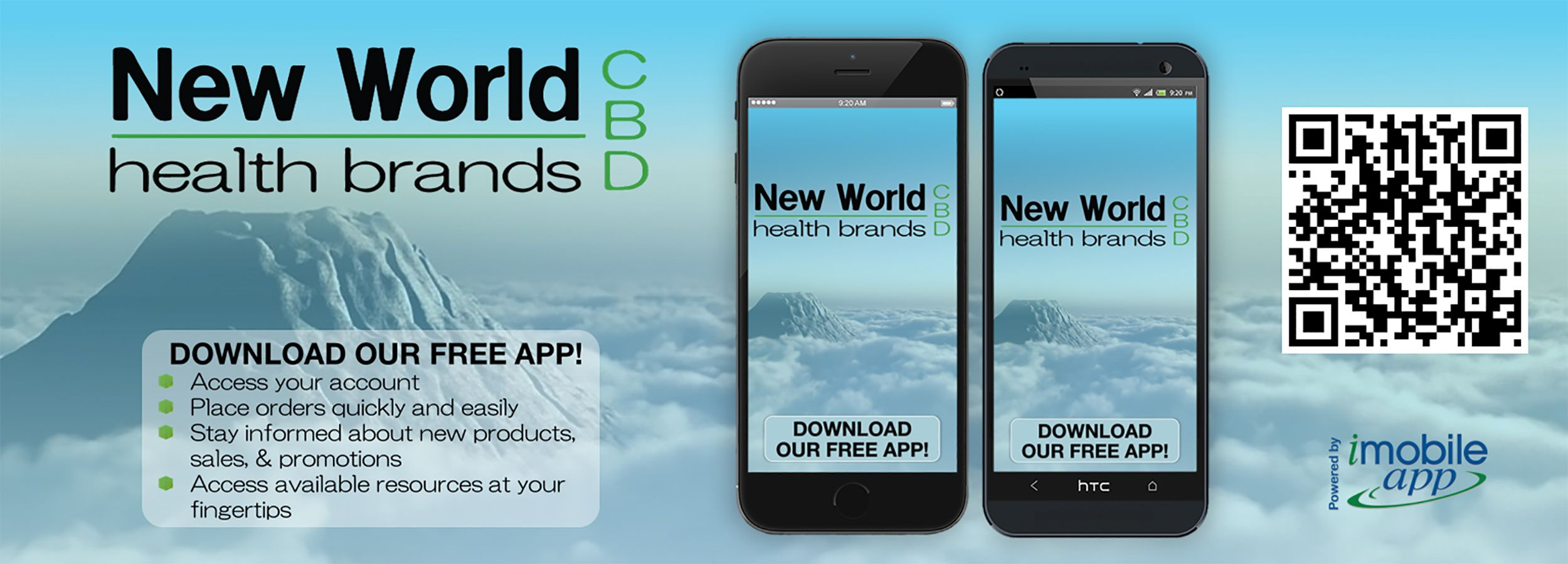 Download our NewWorldHealthCBD mobile app