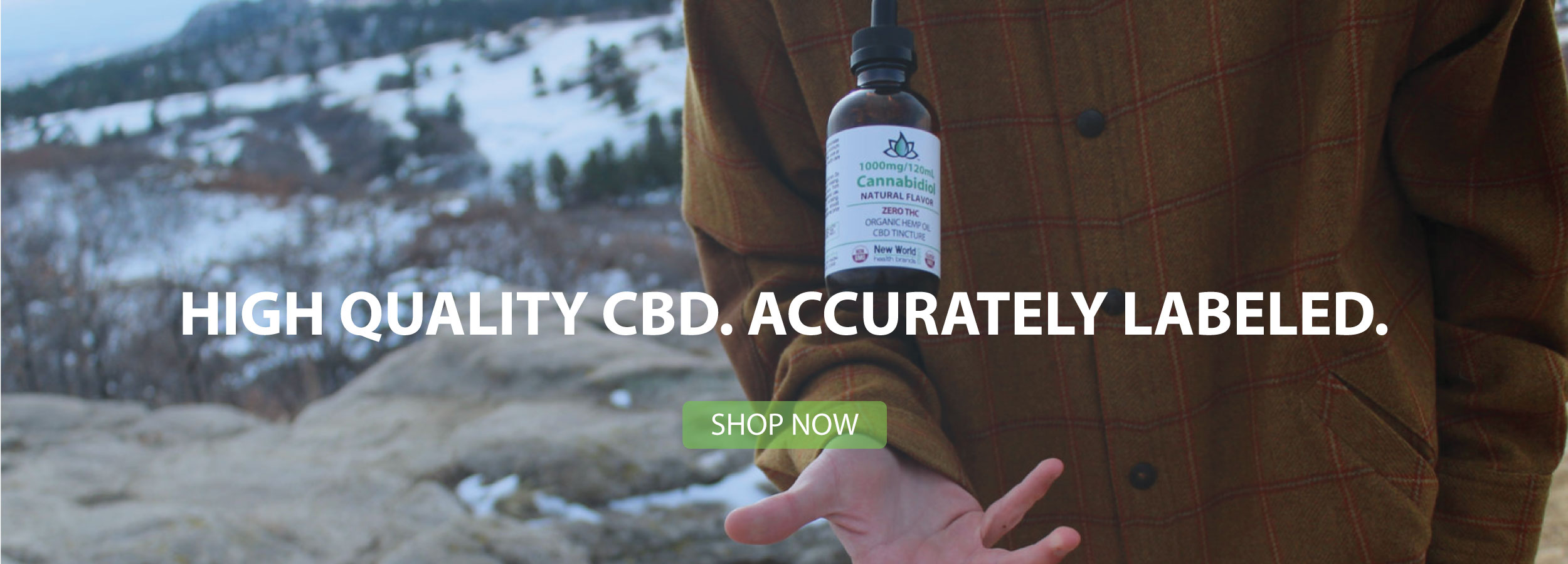 High Quality CBD. Accurately Labeled
